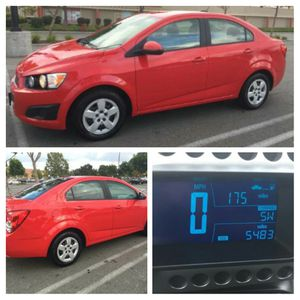 2016 Chevy Sonic 0.5k miles only seminew