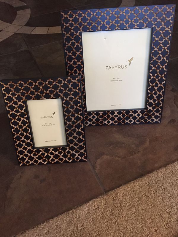 Papyrus wooden frame set (Home & Garden) in Gilbert, AZ