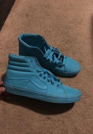 Light blue Vans - Size 9.5