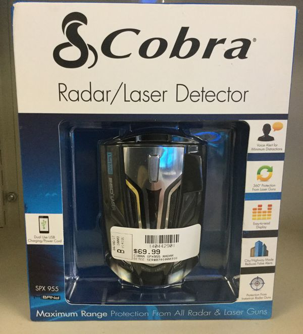 Cobra Radar / Laser Detector New
