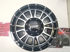 18 INCH RIMS OFF ROAD ON M/T 275/65/18