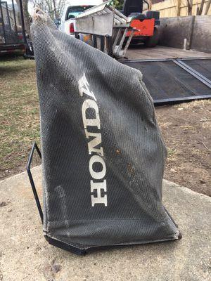 Mower bag