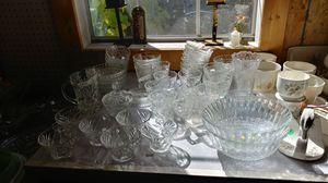 Oatmeal glass lot