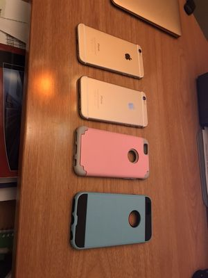2 iPhone 6 for sale 32 GB each