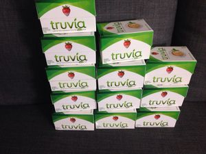 12 Boxes of Truvia . Please See All The Pictures and Read the description