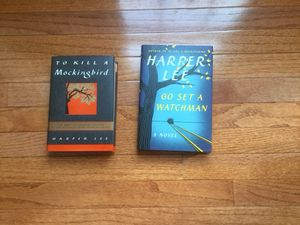 Books: To Kill a Mockingbird and Go Set a Watchman by Harper Lee