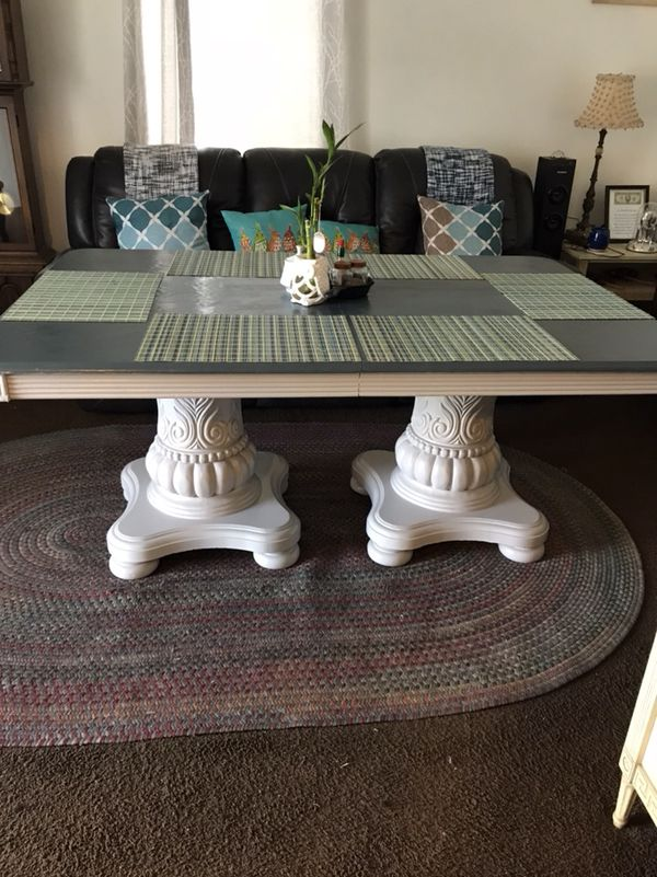 Table With Solid Wood Legs