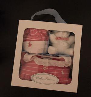 Ralph Lauren Baby girl 3 piece gift set 9 months