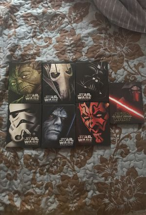 STAR WARS BLU-RAY STEEL BOOK COLLECTION