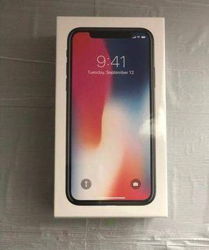 Brand new iPhone X 256GB Space Grey