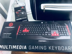 Pro Gaming Mouse/Keyboard. Great Gift! NEW!