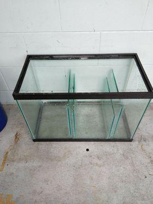 All glass reef tank sump