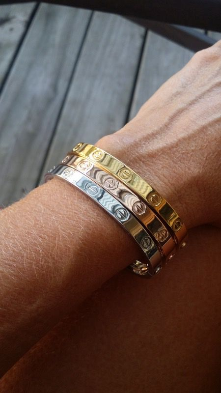 Cartier Love Bracelet Rose Gold Jewelry Amp Accessories In