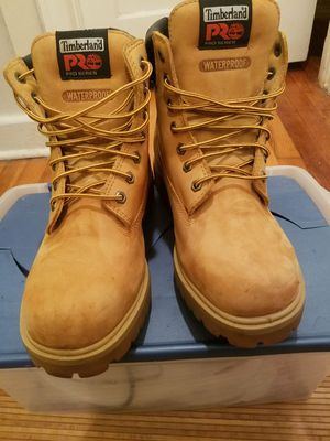 Timberland pro boots size 10