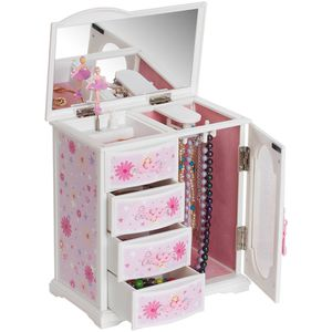 Mele and Co Dorothy Ballerina Musical Jewelry Box