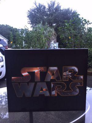Star Wars wall decorate