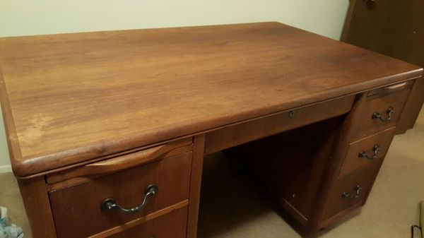 Antique walnut james d headly desk furniture in seattle for Furniture in lynnwood