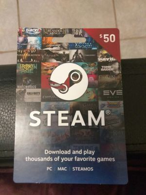 $50 Reload Steam Gaming Card