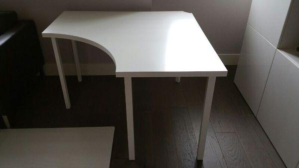 IKEA Linnmon Corner table top