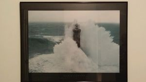 Framed art prints - Man in Lighthouse