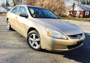 2005 Honda Accord • Gold Leather • Drives Excellent