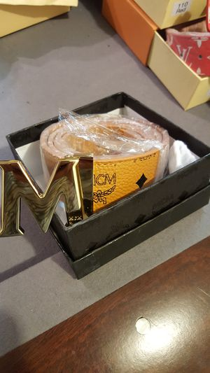 Mcm mens belts