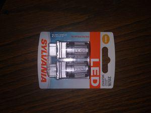 Sylvania LED amber 3157A bulbs