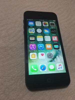 iPhone 5 16GB**UNLOCKED AT&T Cricket T-Mobile Metro**NO LOCKS NO ICLOUD READY TO USE!