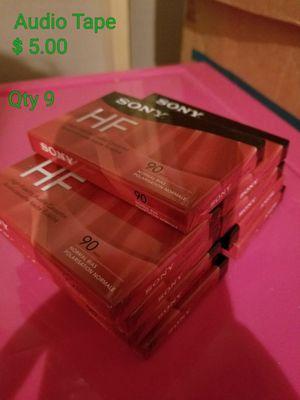 SONY HF 90 min Audio Tapes