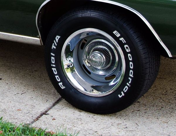 2 Chevy GM Rally wheels 15x10 with tires (General) in ...