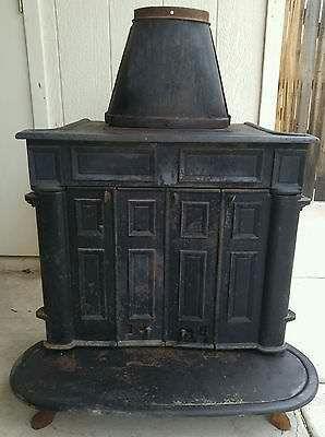 Montgomery Ward Franklin Wood Stove Appliances In Kansas