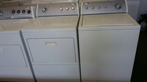Whirpool washer and dryer electric set- free delivery - 4 months warranty