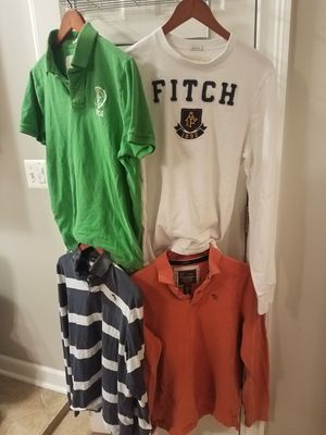 ABERCROMBIE & FITCH MEN'S SHIRTS
