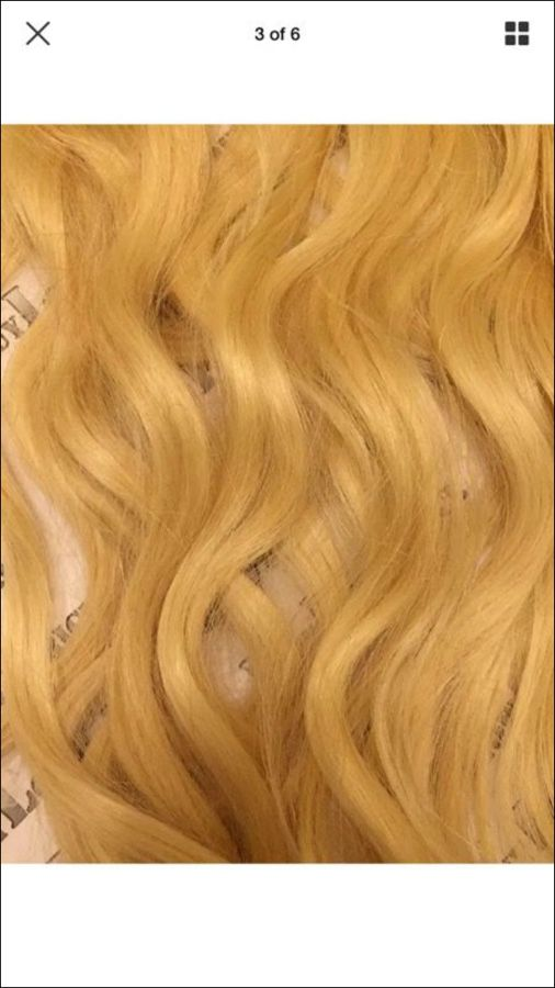Hair Extensions 20 Inches Long Platinum Clip Ins Beauty Health