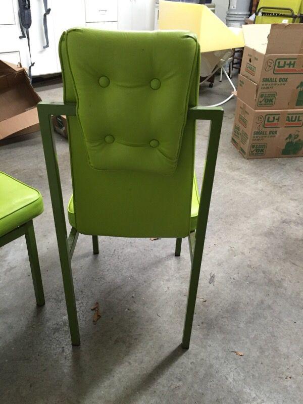 Retro Electric Green Chairs Furniture In Seattle Wa