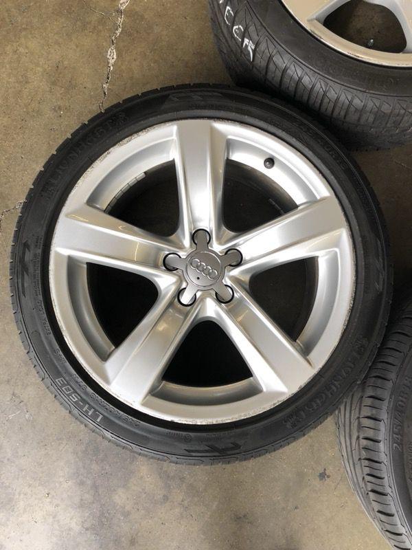 wheel four genuine b wheels set of fzz detroit audi oem k parts ba volkswagen
