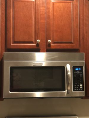 Kitchen Aid Stainless Steel Over-the-range microwave