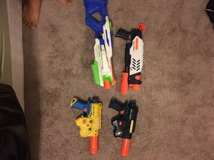 Nerf Super soakers