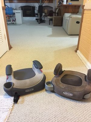 Both Graco Booster Car seat Lightweight