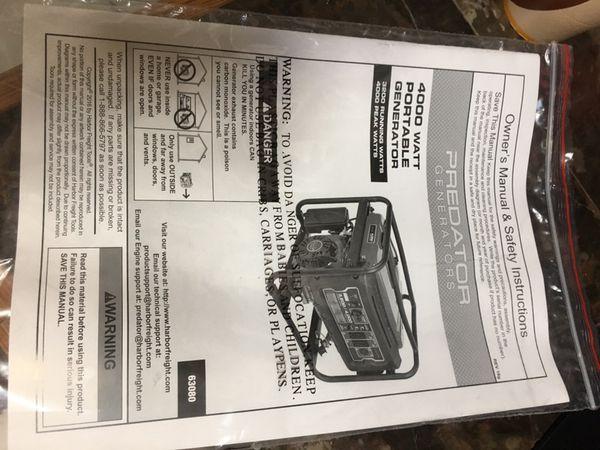 Generator 4000 w
