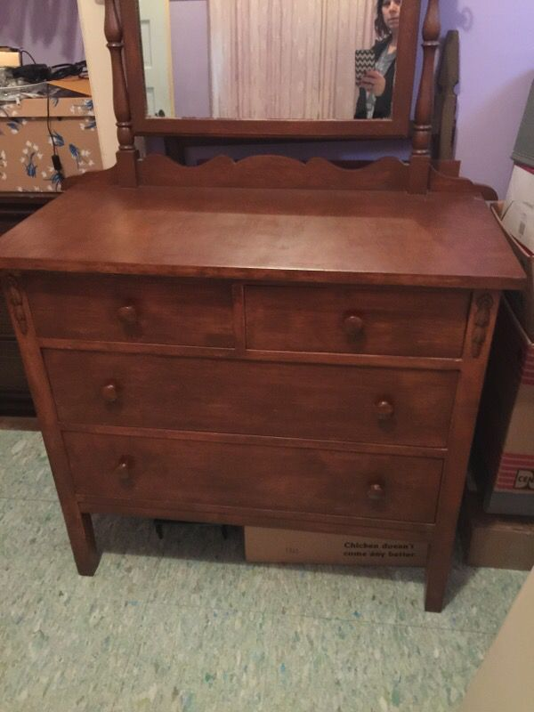 Vintage Dresser Antiques In Tacoma Wa Offerup