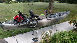 Kayak, Wilderness ride 115, loaded