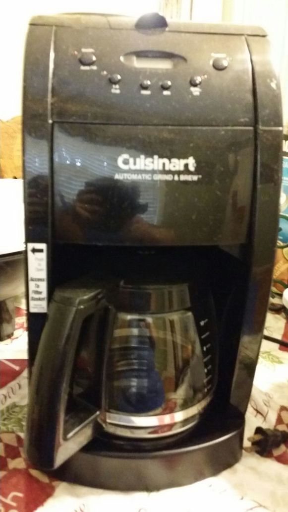 Cuisinart automatic grind and brew Appliances in Huntsville AL