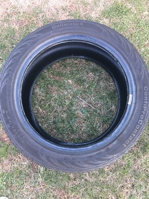 Continental 225/45/17 conti pro contact tires. Used with about 10k on them.
