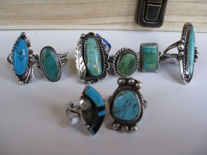 Turquoise rings $40/ piece