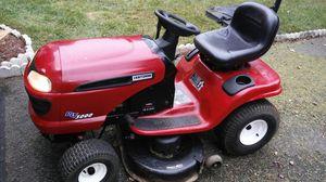 lawnmower crasftman tractor 2004