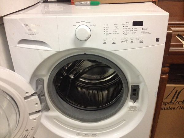 Washer Frigidaire Affinity Ultra Capacity Model