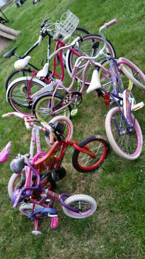 Bikes and garden machines