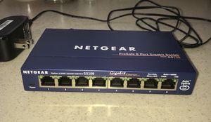 Netgear GS-108 8 Port Gigabit Switch