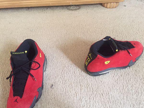 Ferrari 14 Jordans size 13